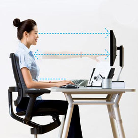 postura em frente ao computador